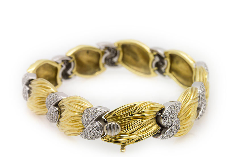 Gold Spark Bracelet