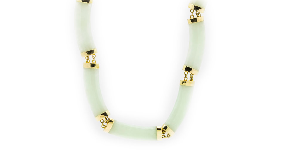 Jade Necklace view 1