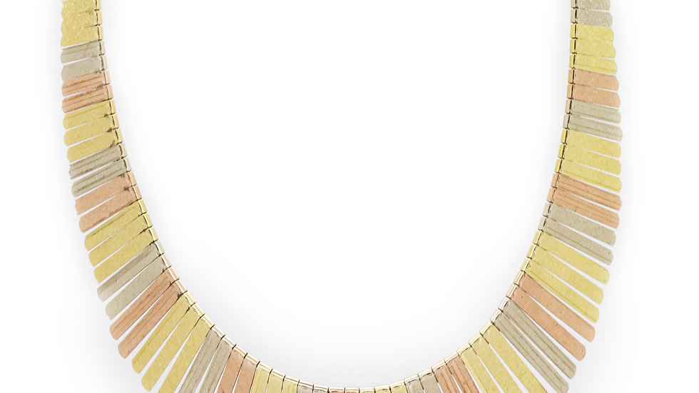 3 Tone Gold Necklace