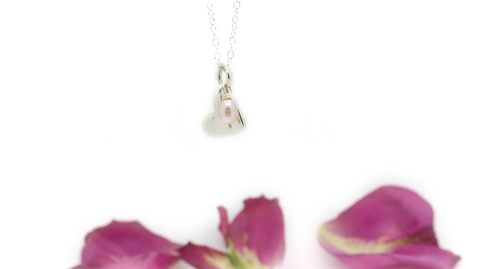 Silver Close To My Heart Necklace