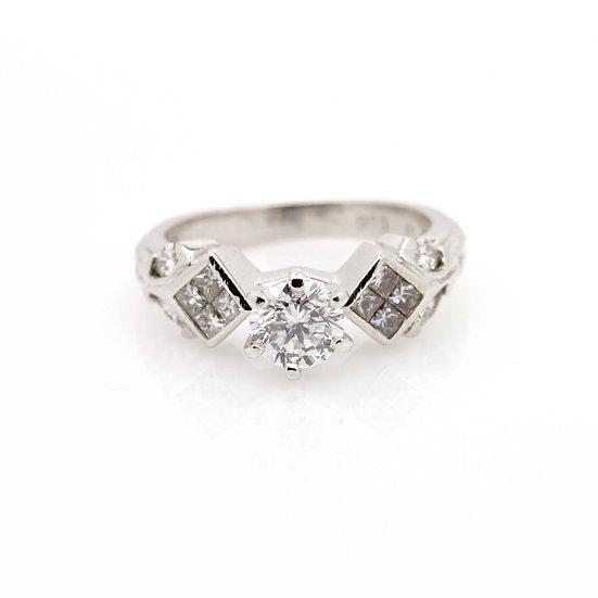 1.27ct Diamond Ring view 1