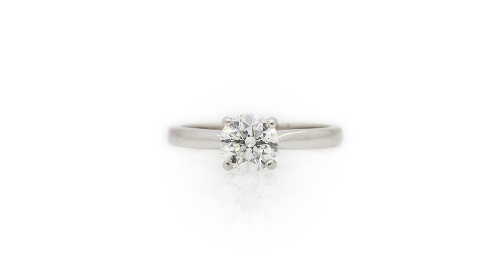 Solitaire Diamond Ring 1ct