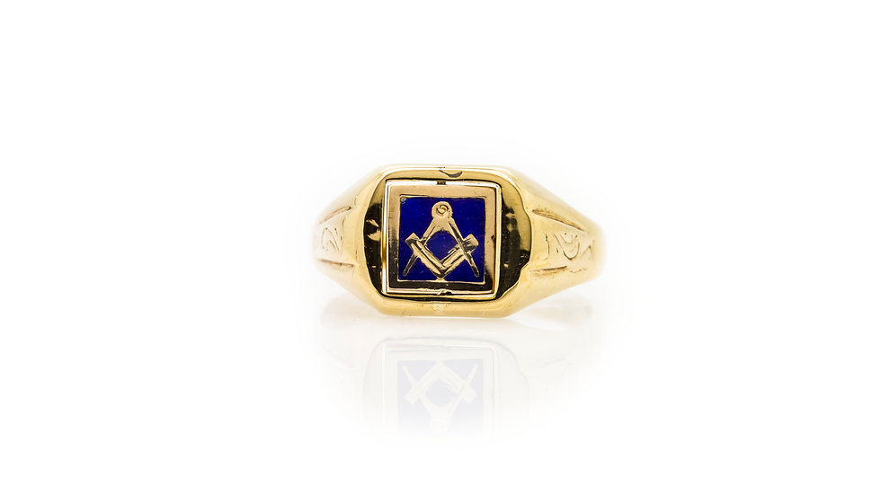 masonic swivel ring