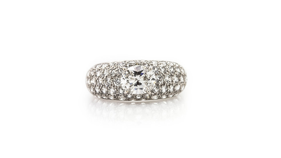 Boucheron Diamond Ring view 1