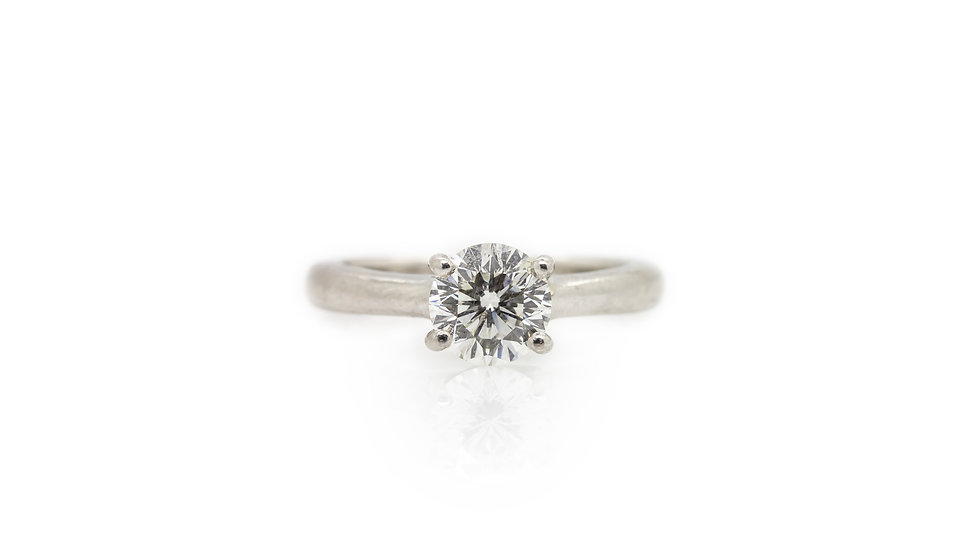The Leo Diamond Solitaire Ring view 1
