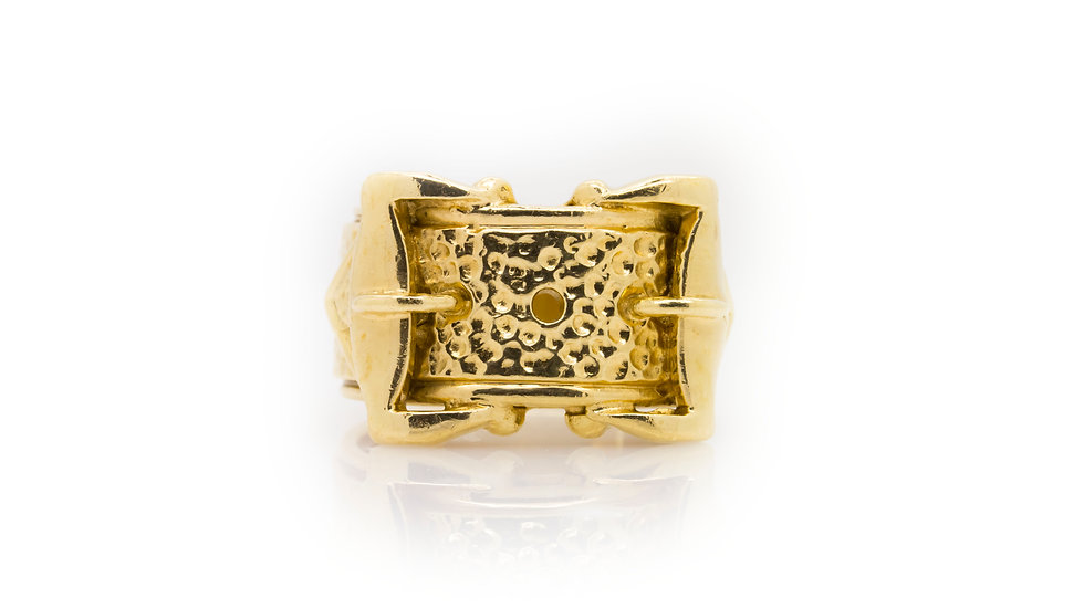 Buckle Ring 9ct gold