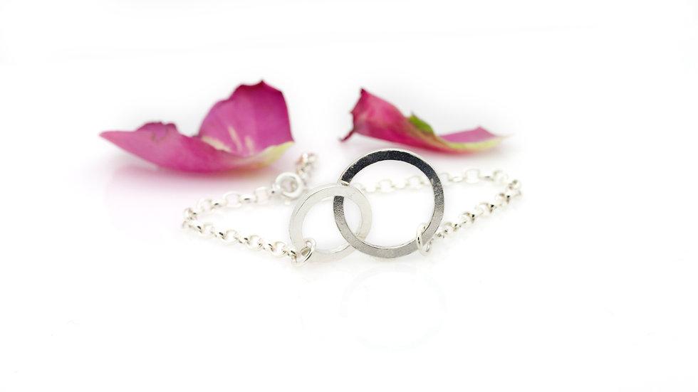 Silver Soulmates Bracelet