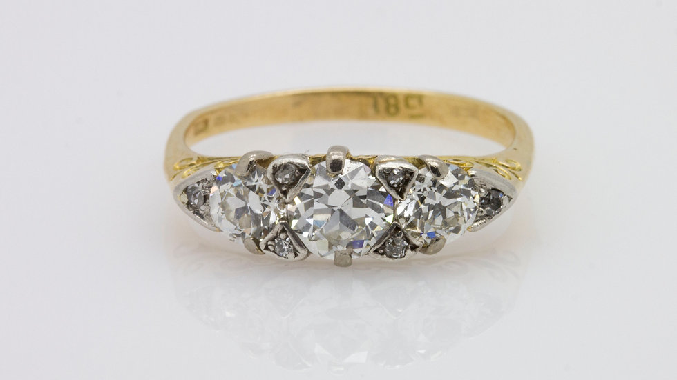 Edwardian Trilogy Ring
