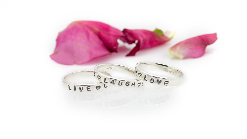 Sterling Silver Storyboard Rings