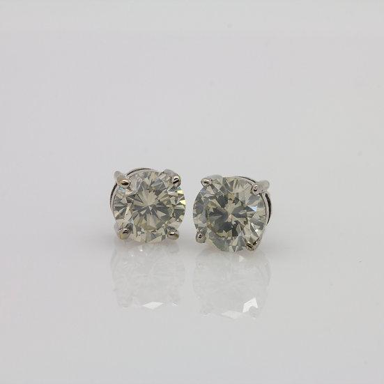 3ct Diamond Earrings