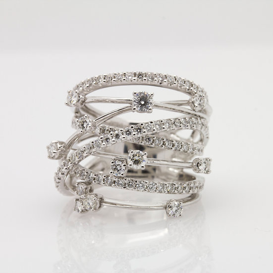 Nest Diamond Ring