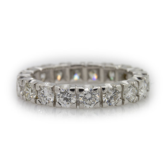 2.70ct Diamond Eternity Ring Mulroy Antiques View 1