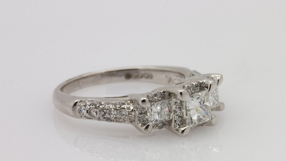 Princess Trilogy Ring