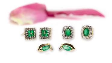 Emerlad earrings