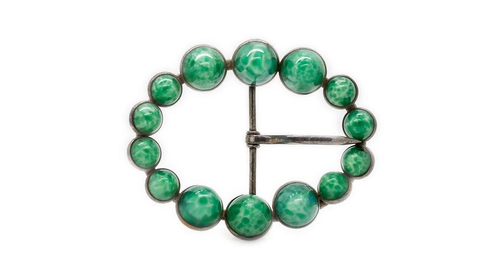 Jade Belt Buckle