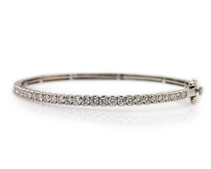 2 Carat Diamond Bangle
