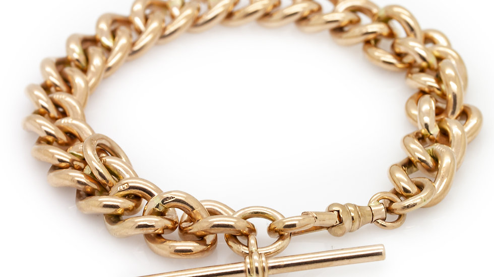Yellow Gold Albert Bracelet