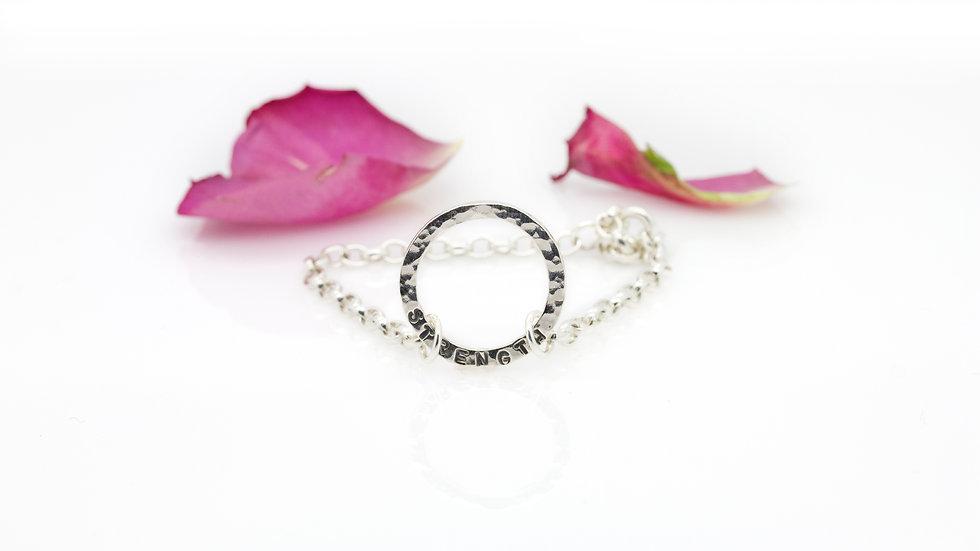 Silver Serenity Bracelet