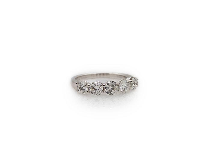 5 Stone Diamond Eternity Ring view1