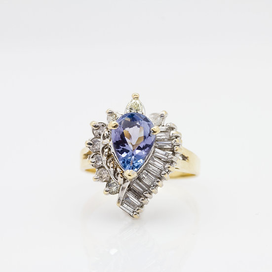 1.25ct Sapphire Cocktail Ring