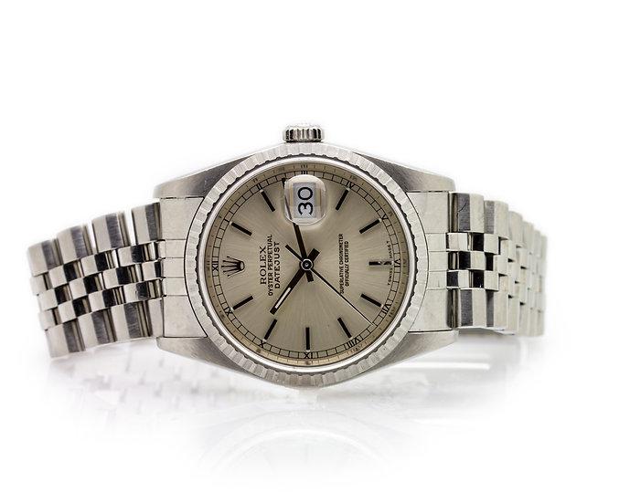 Rolex DateJust Gents Watch view 1