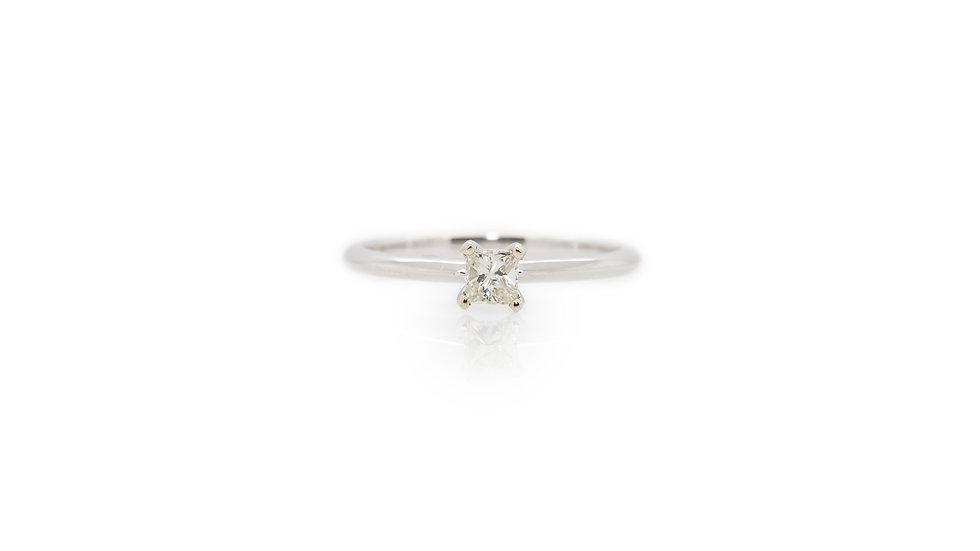 Princess Diamond Solitaire Ring view 1