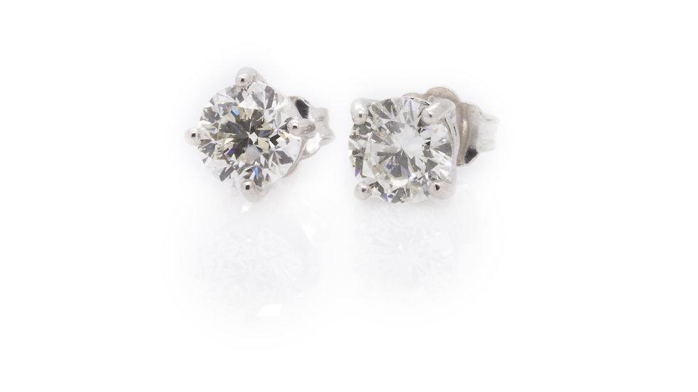 Diamond Stud Earrings jewellers in uk