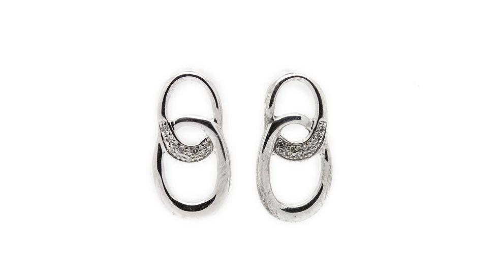 Oval Link Earrings