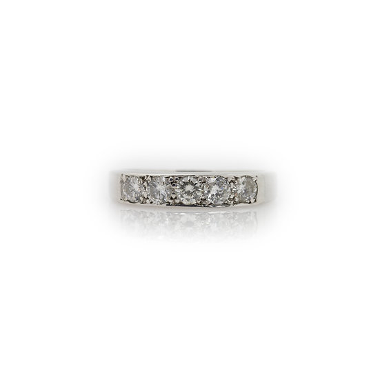Diamond Eternity Band Ring view 1