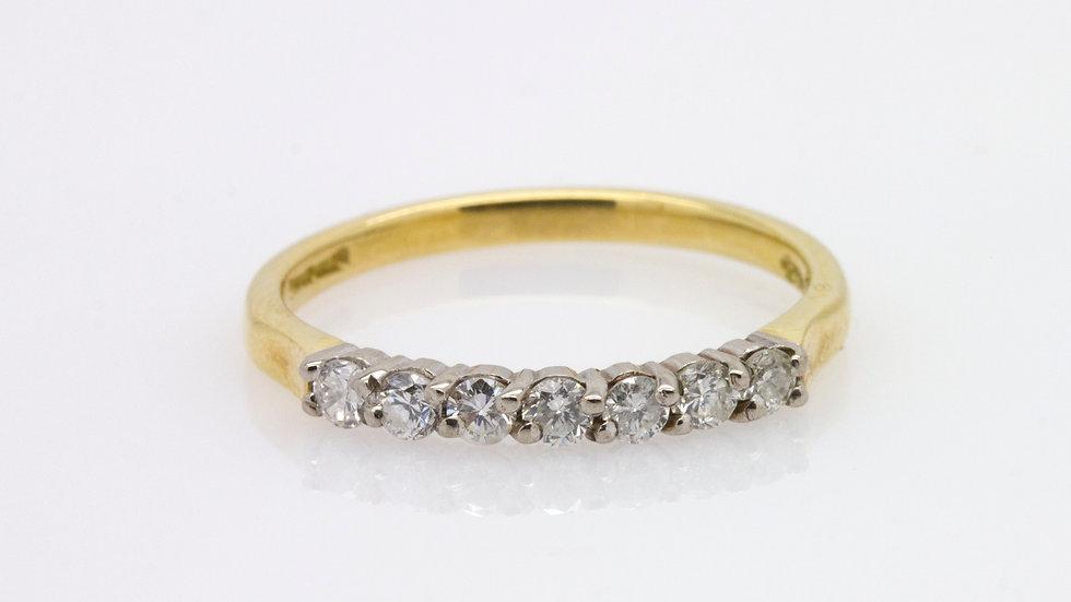 18 carat gold Eternity Ring