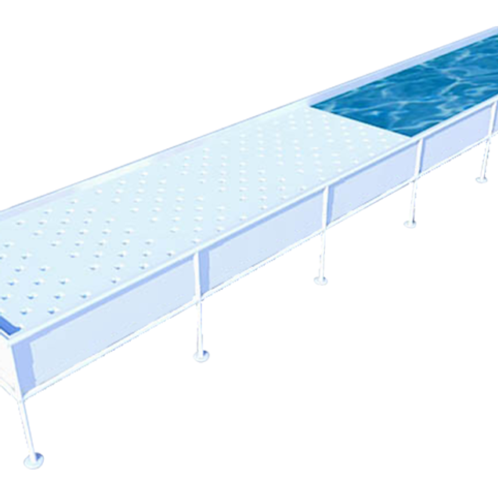 Growasis Elevated Modular Raft System