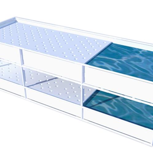 Growasis Double Decker Modular Raft System