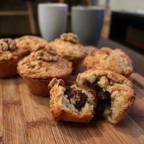 Muffins gourmands aux flocons d'avoine 🧁