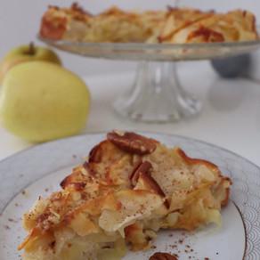 Gâteau invisible aux pommes 🍏