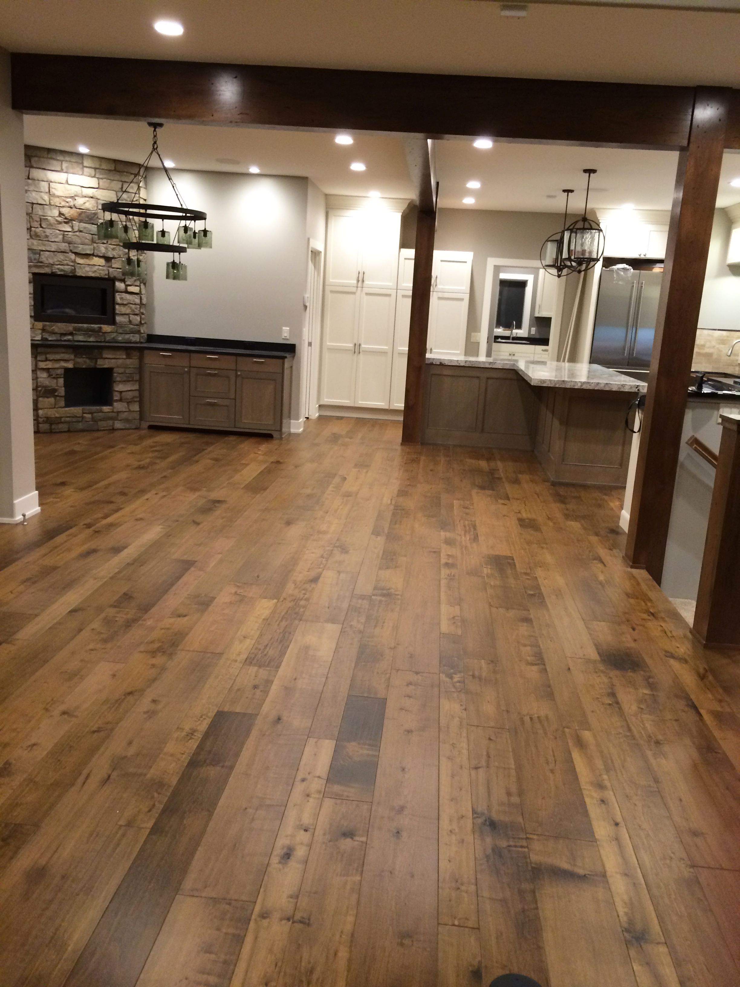 Hardwood Floors Install