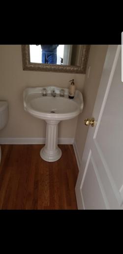 Guest Bath Sink Install