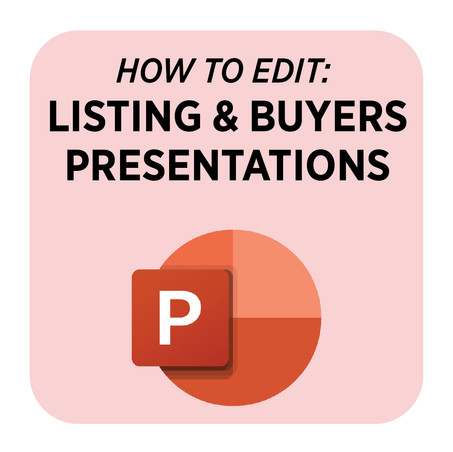 How to Edit Listing & Buying Presentations