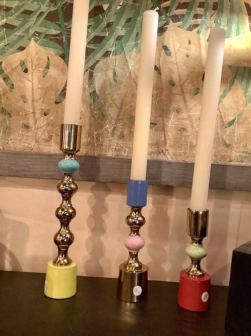 Bougeoirs en métal coloré klevering Amsterdam