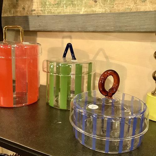 Boites en verre colorées Klevering Amsterdam