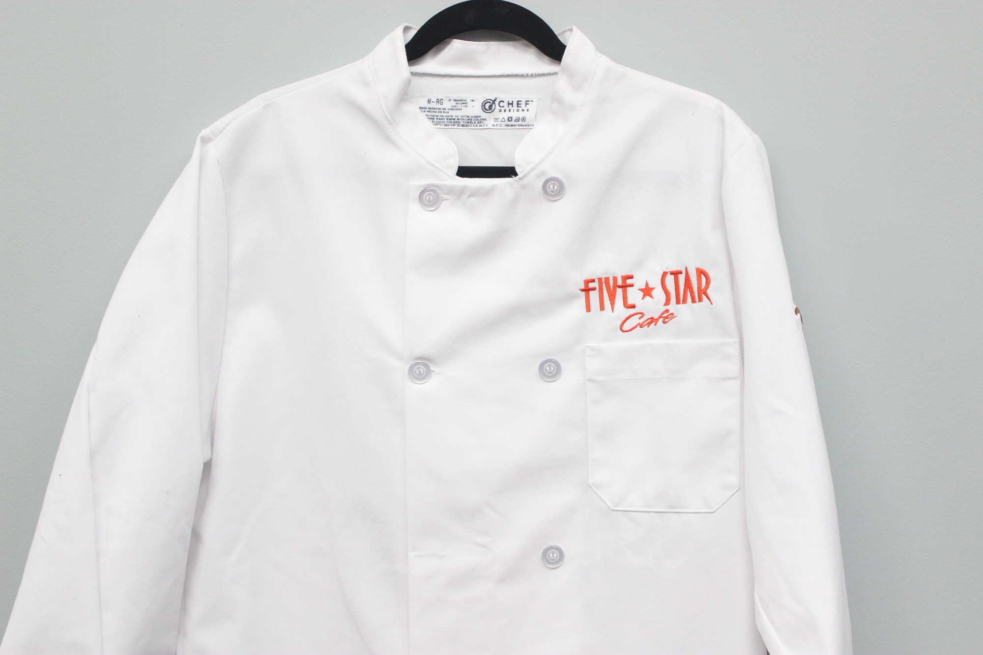 Chef Shirt Embroidery