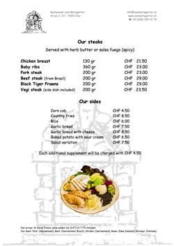 Page 08 Diner Menu