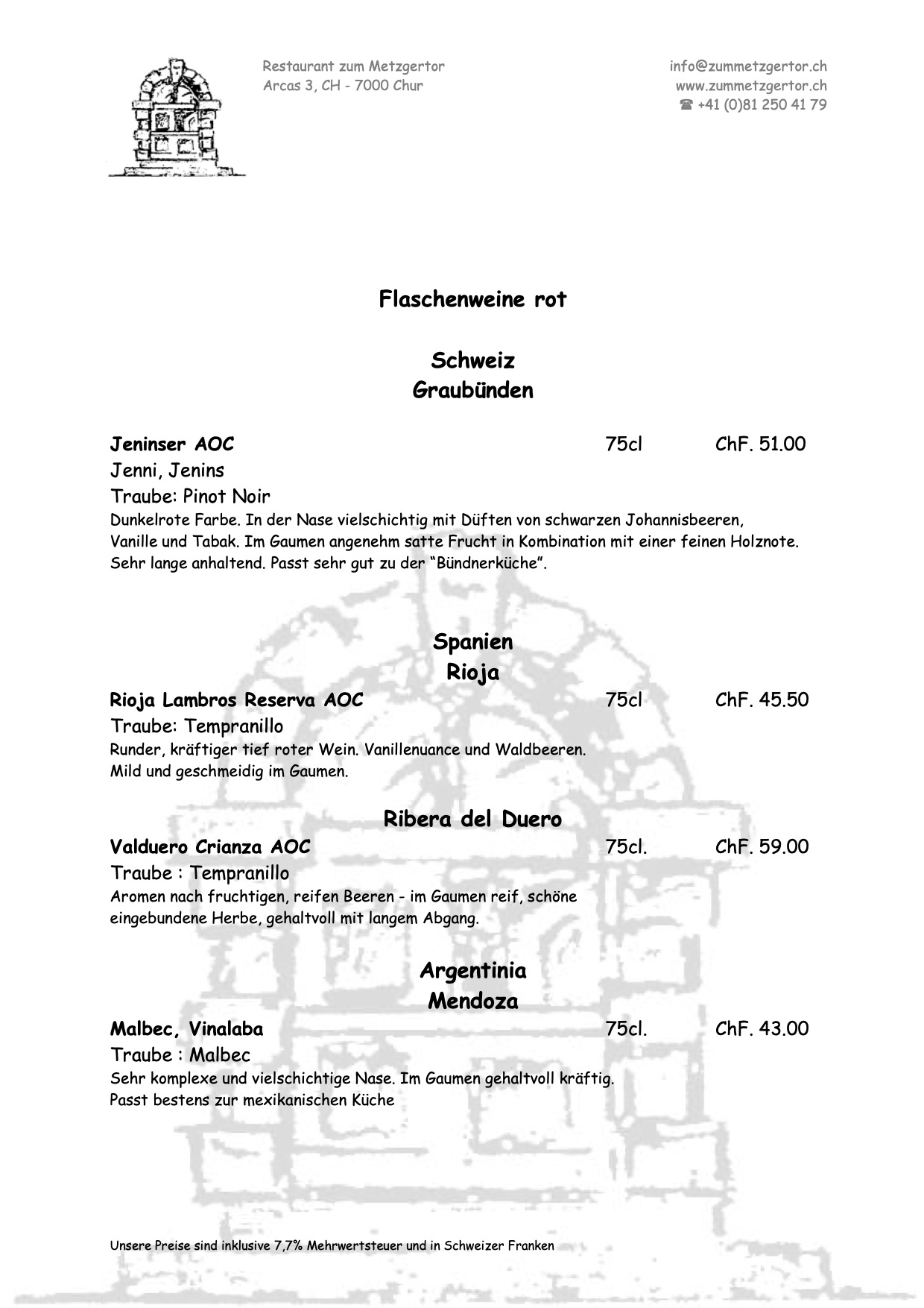 Getränke Karte Seite 07