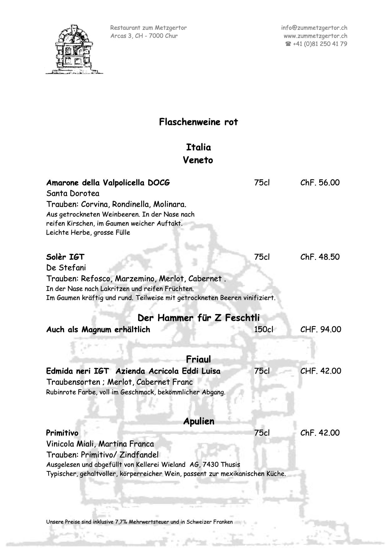 Getränke Karte Seite 08