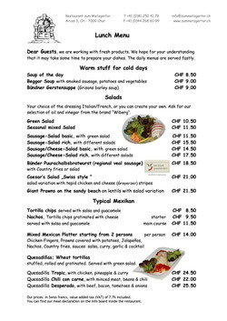 01 Lunch Menu