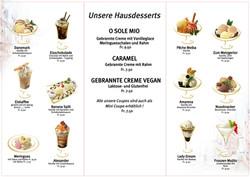 Seite 2 Dessertkarte