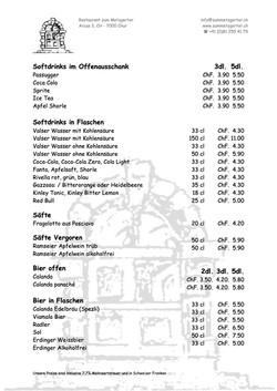 Getränke Karte Seite 02