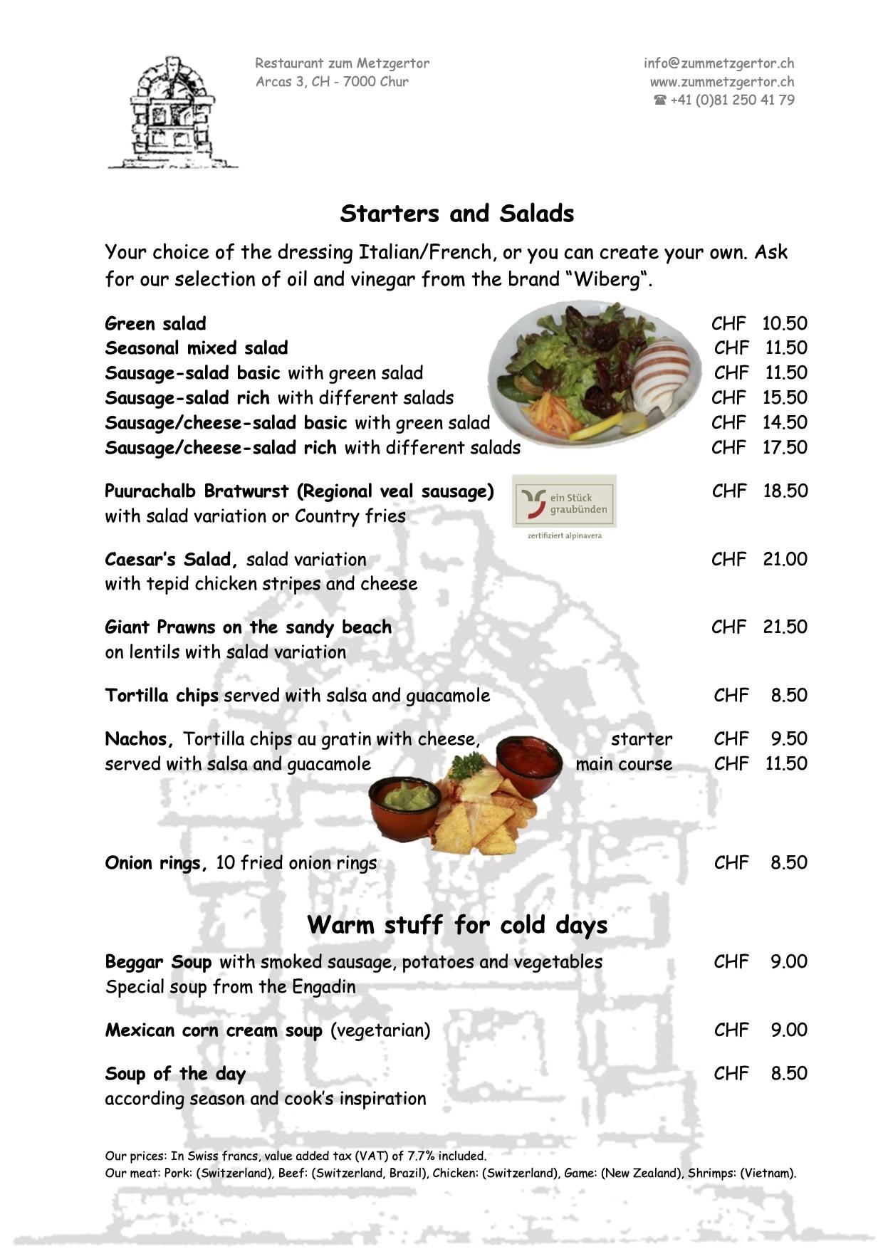 Page 03 Diner Menu