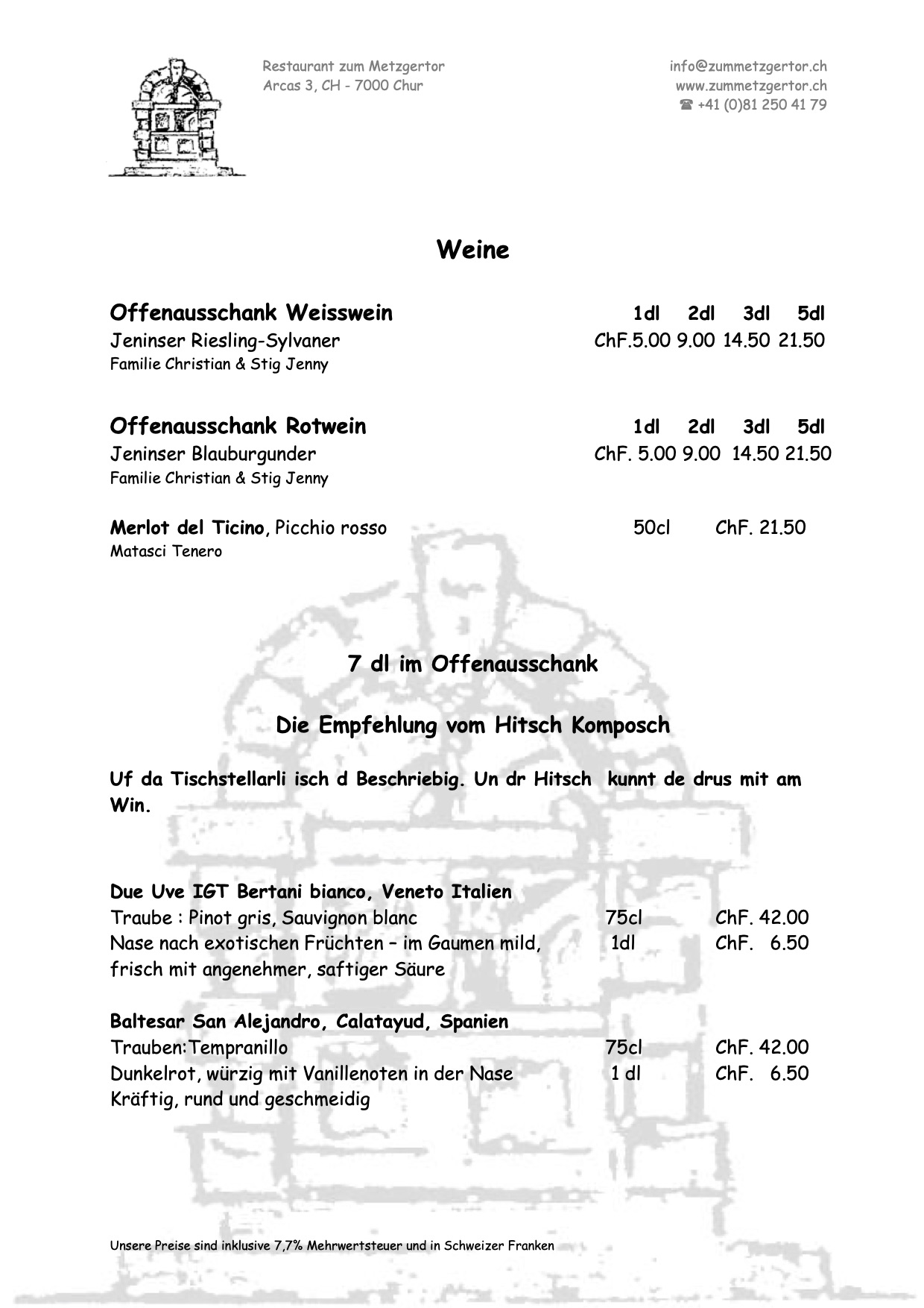Getränke Karte Seite 05