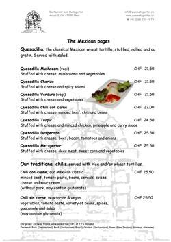 Page 05 Diner Menu
