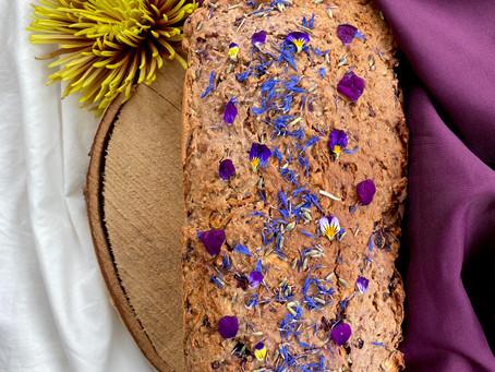 Blackberry & Lavender Breakfast Cake